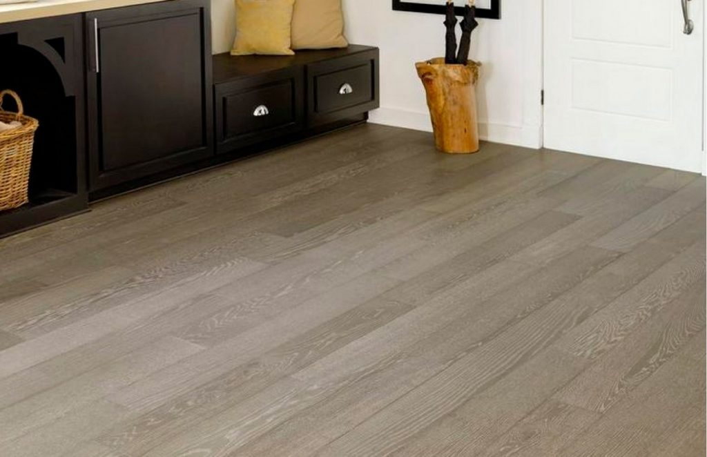 wood floor covering