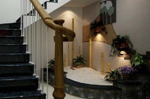 Construction of beautiful stairs