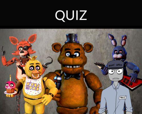 fnaf quiz